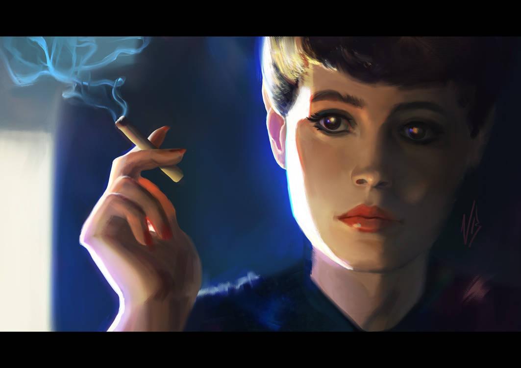 Blade Runner Study by nataliebernard
