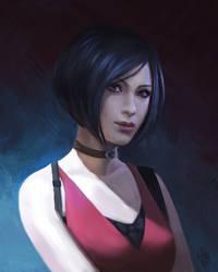 Ada Wong by nataliebernard