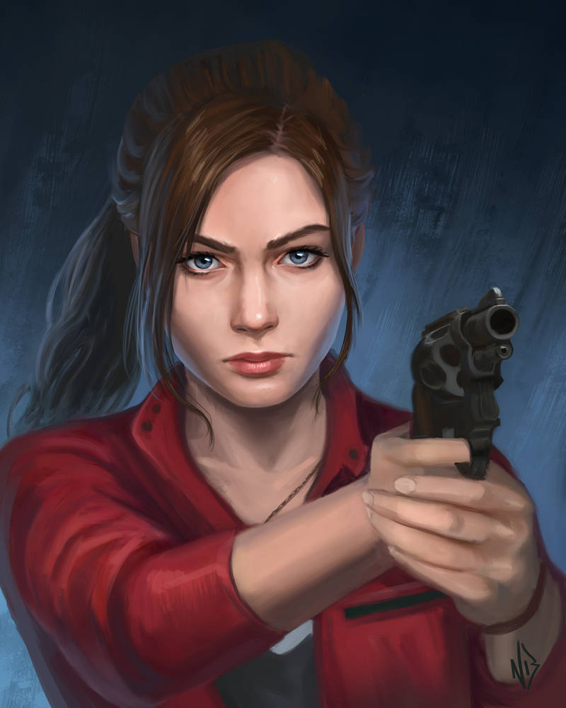Claire Redfield by nataliebernard