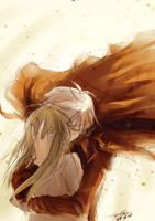 :novel illust: farewell by Waenaglariel