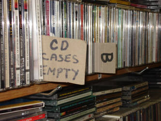 CD cases empty by iamamatador