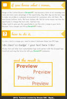 Custom Box - Orange Text Effect by DreamON-Mpak