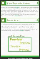 Custom Box - Green Text Effect by DreamON-Mpak