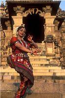Dance Dance temple by BharatanatyamOdissi