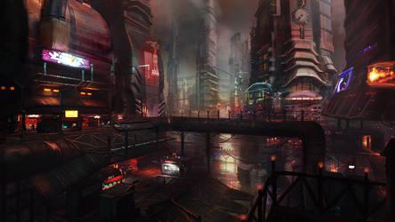 Bowery Street by chrislazzer