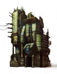 Slum building01 by chrislazzer