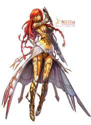 assassin-female by Cushart