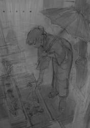 widow-sketch by Cushart