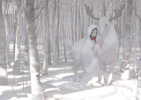 WhiteDeer by Cushart