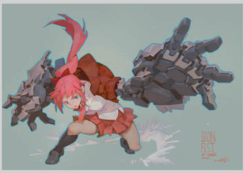 IRONFIST_2 by Cushart