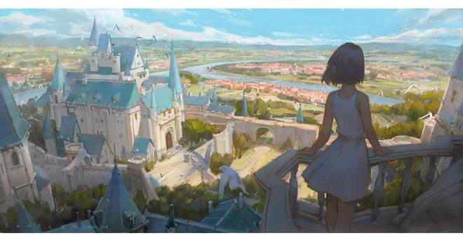 Castle by Cushart