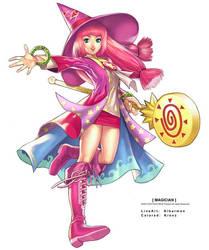 Magician by Cushart