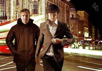 Sherlock - street by Eneada