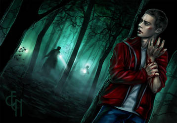Teen Wolf - Stiles Stilinski - Run by Eneada