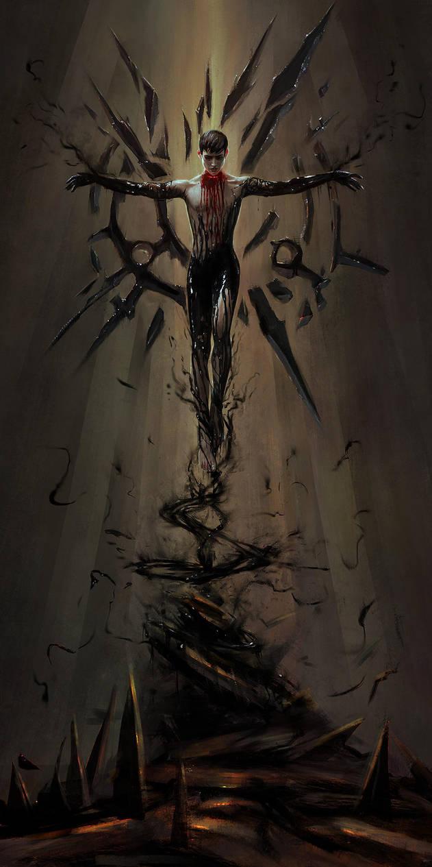 Dishonored - Birth of a God by Eneada