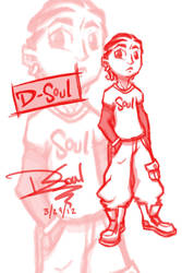 Birth of D-Soul aka Soul Kid by marcus3000