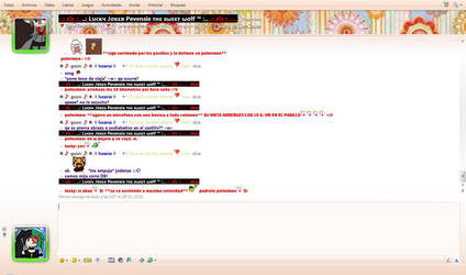 chateando con lucky 8D by M1ichY