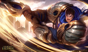 Garen the Might of Demacia by AlexFlores