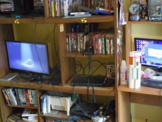 my set of my room of doom and anime freak and att by mastershake1988