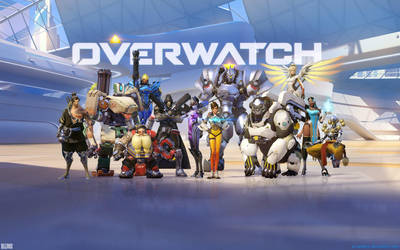 Overwatch Main Wallpaper 1920x1200 by Sirusdark