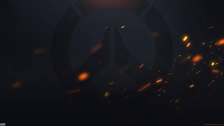 Overwatch Fire Wallpaper 2560x1440 by Sirusdark