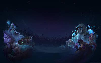 Knights of the Frozen Throne - Night 1920x1200 by Sirusdark