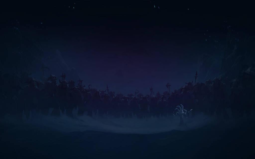 Background Request - HS Frozen Throne 1920x1200 by Sirusdark