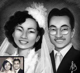 My Grandparents' Wedding by patyhikari