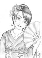 Geisha by patyhikari