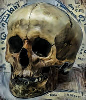 Skull Writ by DonkehSalad23