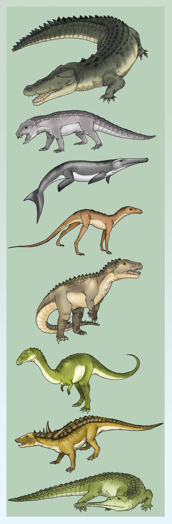 Diversity of the Crurotarsi by Eurwentala