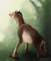 Knuckle-walking Horse by Eurwentala