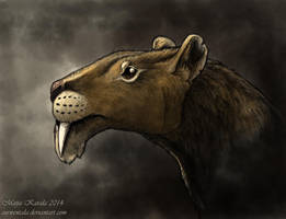 Thylacosmilus by Eurwentala