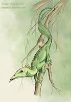 Tree Creature by Eurwentala