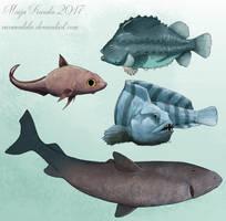 Fish of Arctic Ocean by Eurwentala