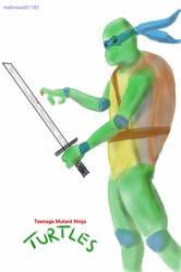 Ninja Turtles - Leonardo by Mahmood31182