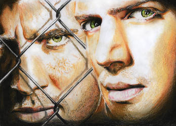 Prison Break Fan-Art by chillerofhell