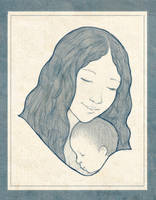 Mothers Comfort by JamesCreations