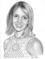 Britney Spear Portrait 1 by JamesCreations