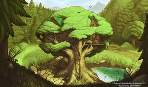 Wondabubba Intro Illustration by JamesCreations