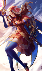 Fate Fatale Tarot :: Da Vinci by MartaLaz