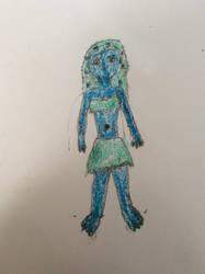 Lila as a fruit dryad by ilovemixels