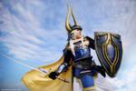Final Fantasy Warrior of Light by naokunn