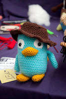 Perry... now with a hat! by Anxocunningham