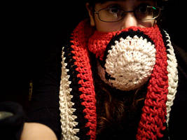 Pokeball scarf by Anxocunningham