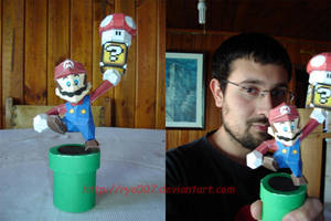 Mario Papercraft 4 in 1 by ryo007