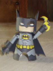 Batman Ham Head Papercraft by ryo007
