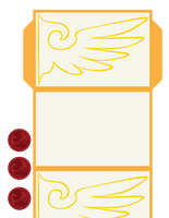 One Winged Eagle Envelope by IamSare