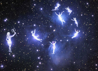 Pleiades-The seven sisters by CORinAZONe
