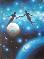 Cosmic love by CORinAZONe